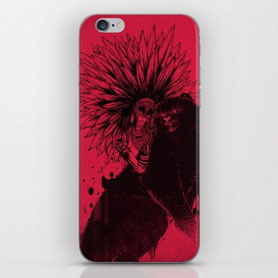 Her Black Cat iPhone & iPod Skin