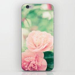 Joie de vivre - floral photography iPhone Skin
