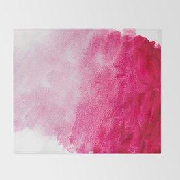Hopeless, Romantic And Pink #decor #buyart #society6 #art #prints Throw Blanket