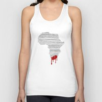 south africa Tank Tops featuring South Africa Bleeds by Design511