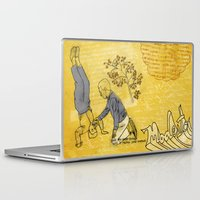 hiccup Laptop & iPad Skins featuring Modesto! Hiccup by MODESTo! Prints