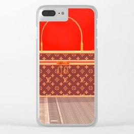 Squared: Louie Louie Louie Clear iPhone Case
