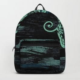 Abstract Tribal Turtles Backpack