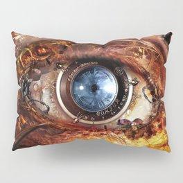 Steampunk camera's eye. Pillow Sham