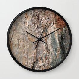 Maine Coast Rocks, No.1 Wall Clock
