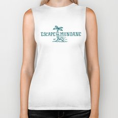 Escape the Mundane Biker Tank