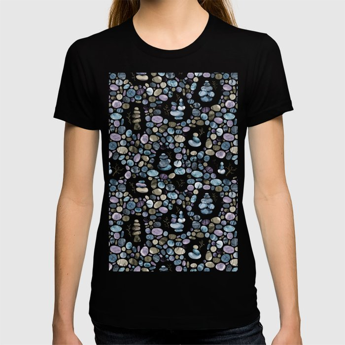 Wishing stones and cairns T-shirt