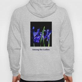 Among the Ladies Artist Series jGibney Irises Hoody