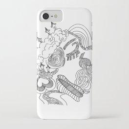 dreams in line iPhone Case