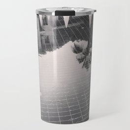 Palm Tree reflection Travel Mug