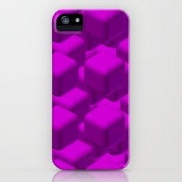 Violet tech iPhone Case