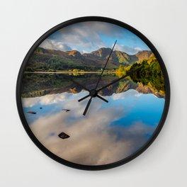 Lake Crafnant Snowdonia Wall Clock