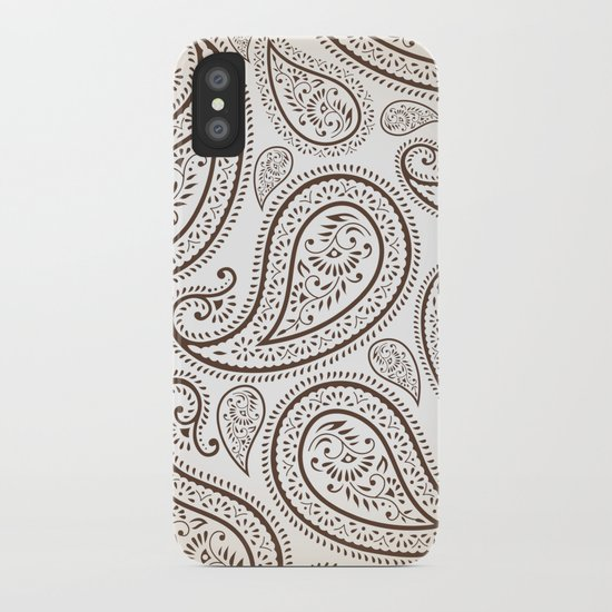 Paisley Threads iPhone Case