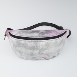 Pink and purple Galaxy art Fanny Pack