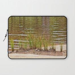 Beautiful River Grass Laptop Sleeve