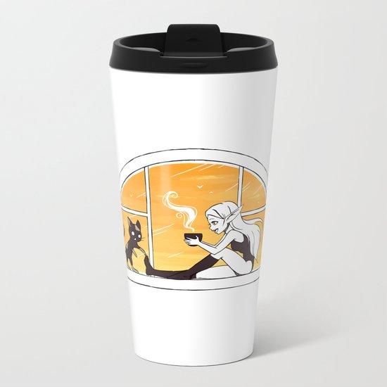Evening Tea Metal Travel Mug