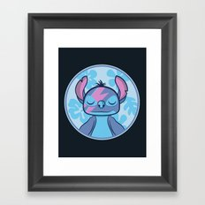 Stitchy Stardust Framed Art Print