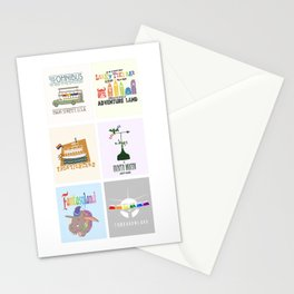 Designers United - All Six Designs Stationery Cards