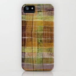 Plaid iPhone Case