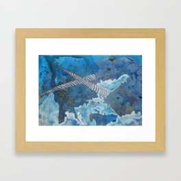 Narwhals Framed Art Print