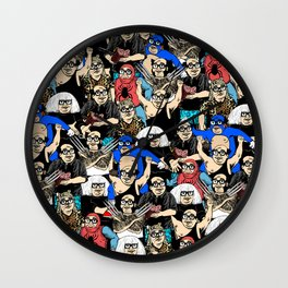 All the Franks Wall Clock
