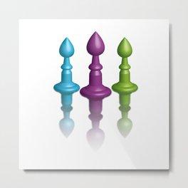 life is like chess Metal Print