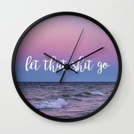 Sunset Zen Wall Clock