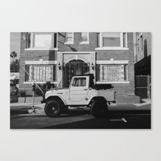 On The Street Canvas Print
