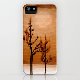 Burnout iPhone Case