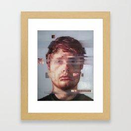 Fusion portrait series Framed Art Print