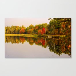 In Awe Of Autumn Canvas Print