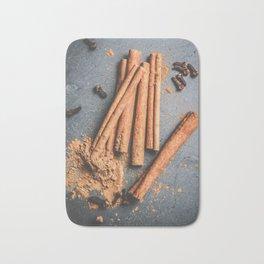 Cinnamon and anise art #food #stilllife Bath Mat