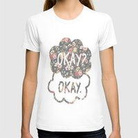 tfios T-shirts featuring OKAY?OKAY THE FAULT IN OUR STARS TFIOS HAZEL AUGUSTUS CLOUDS #2 by monalisacried