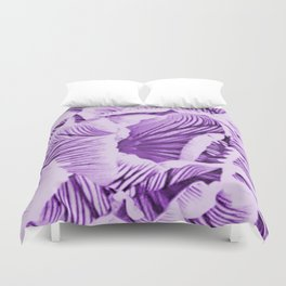 Veins Of Crocus Duvet Cover