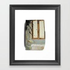 Indoor landscape II Framed Art Print