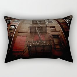 manhattan alley Rectangular Pillow