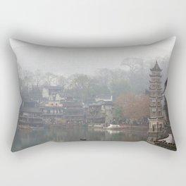 China's ancient town Rectangular Pillow