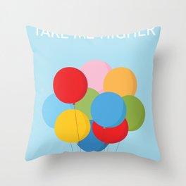 Take Me HIgher Throw Pillow