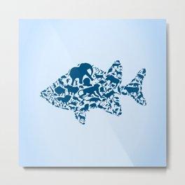 Fish an animal Metal Print