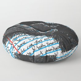 Loose Leaf Doodles: Frau Floor Pillow