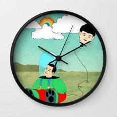 Reality Wall Clock