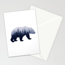 Bear in the Woods Stationery Cards