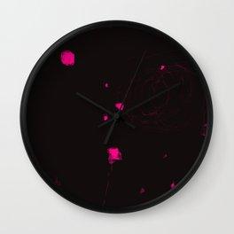 Microcosmos 4 Wall Clock