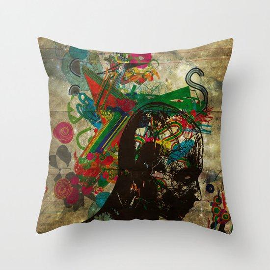 creative procrastination Throw Pillow