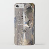 aviation iPhone & iPod Cases featuring ATR ATR-42-500 Aviation Scenic Dangerous No way out Landing aircraft by Aviator