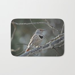 Red-shafted Northern Flicker Bath Mat