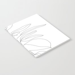 Minimal Rubber Tree Notebook