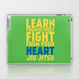 Learn from the Street Jiu Jitsu Laptop & iPad Skin