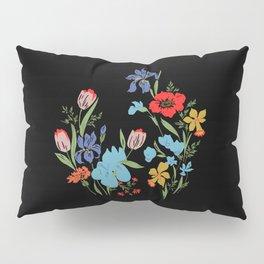 Flowery Pillow Sham