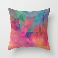 broken Throw Pillows featuring Broken by Christy Leigh
